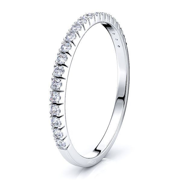 Petrona Pave Set Women Anniversary Wedding Band