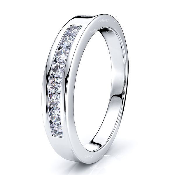 Marcella Diamond Women Anniversary Wedding Band