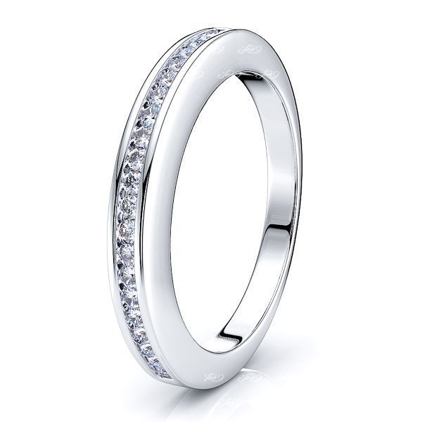 Jehanne Channel Set Women Anniversary Wedding Ring