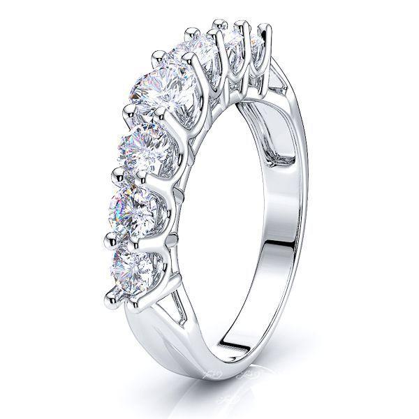 Chloe Prong Set Women Anniversary Wedding Ring