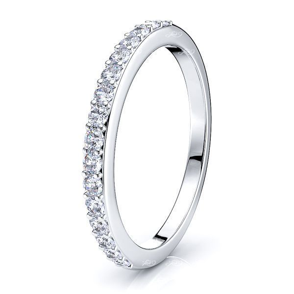 Emmie Shared Prong  Women Anniversary Wedding Ring