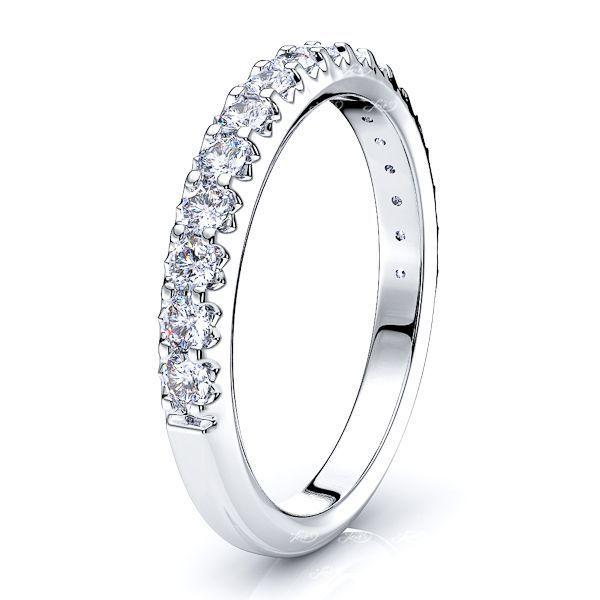 Violeta Diamond Women Anniversary Wedding Ring