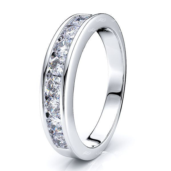Clarisa Diamond Women Anniversary Wedding Ring