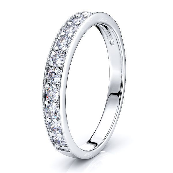 Francisca Diamond Women Anniversary Wedding Ring