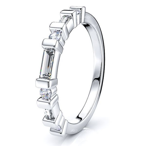 Iseult Diamond Women Anniversary Wedding Ring