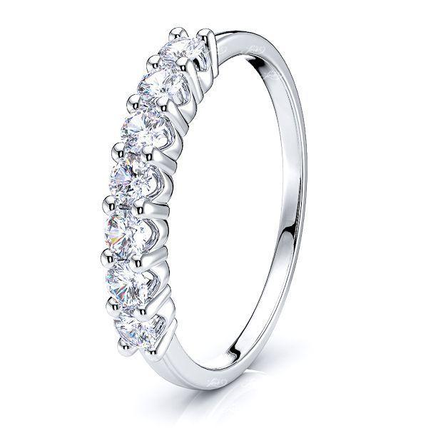 New York Diamond Women Anniversary Wedding Ring