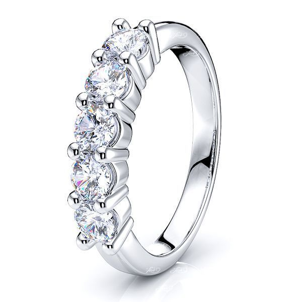Maria Prong Set Women Anniversary Wedding Ring