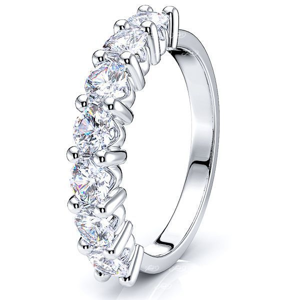 Erminia Diamond Women Anniversary Wedding Ring
