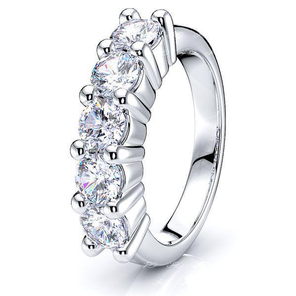 Concha Women Anniversary Wedding Ring