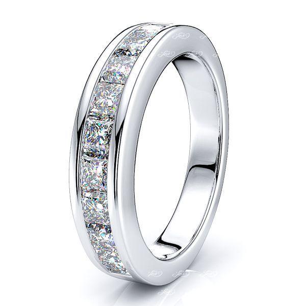 Mariangela Channel Set Women Anniversary Wedding Ring