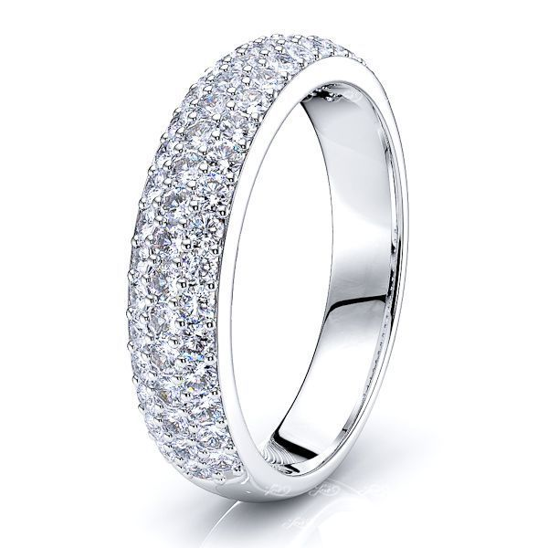 Laure Pave Set Women Anniversary Wedding Ring