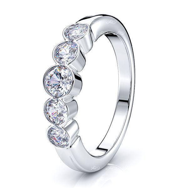 Carla Diamond Women Anniversary Wedding Ring