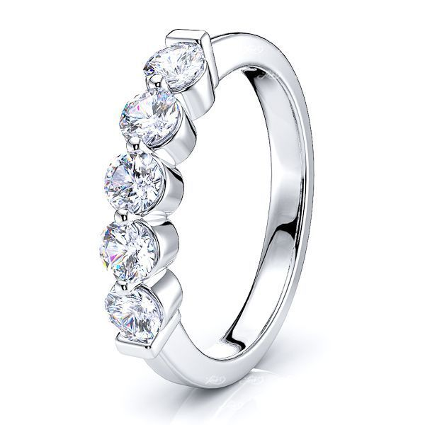 Colette Prong Set Women Anniversary Wedding Ring
