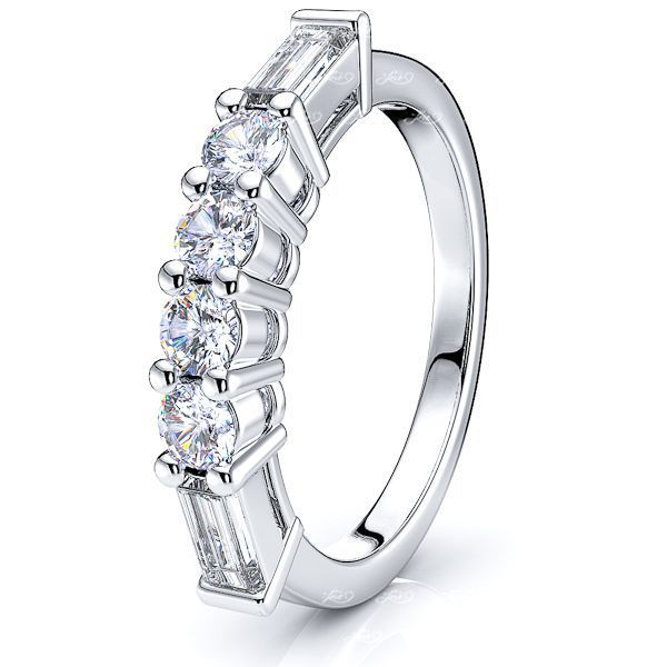 Adriana Diamond Women Anniversary Wedding Ring