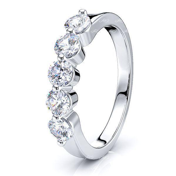 Garland Women Anniversary Wedding Ring