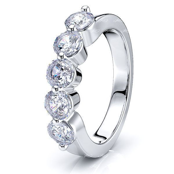 Simona Women Anniversary Wedding Ring