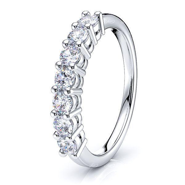 Amada 7 Stone Women Anniversary Wedding Ring