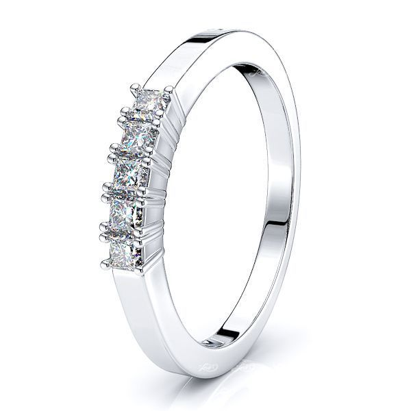 Gina Princess Women Anniversary Wedding Ring
