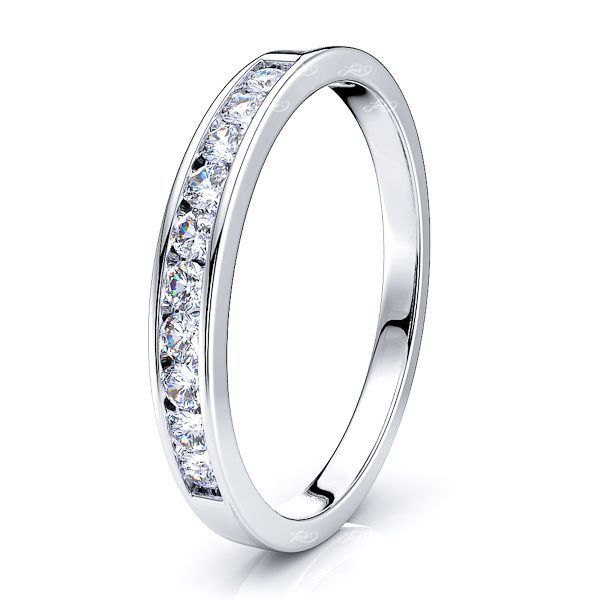 Rosemonde Channel Set Women Anniversary Wedding Ring