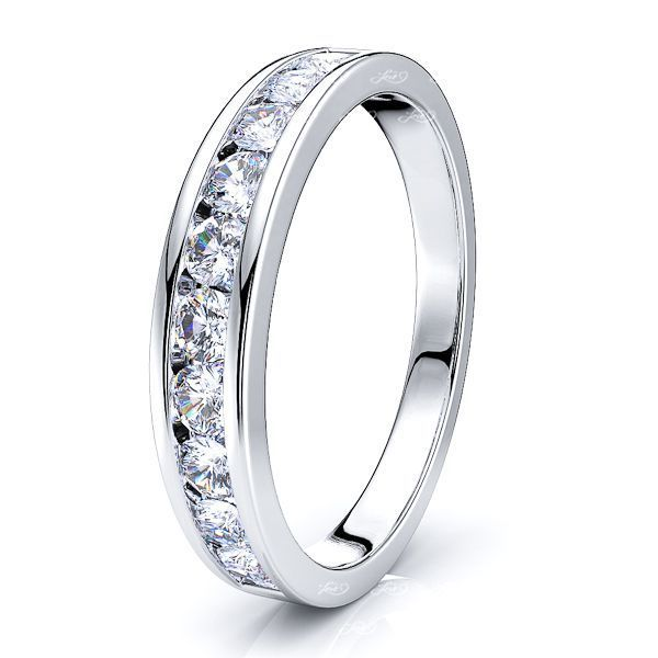 Morgause Channel Set Women Anniversary Wedding Ring
