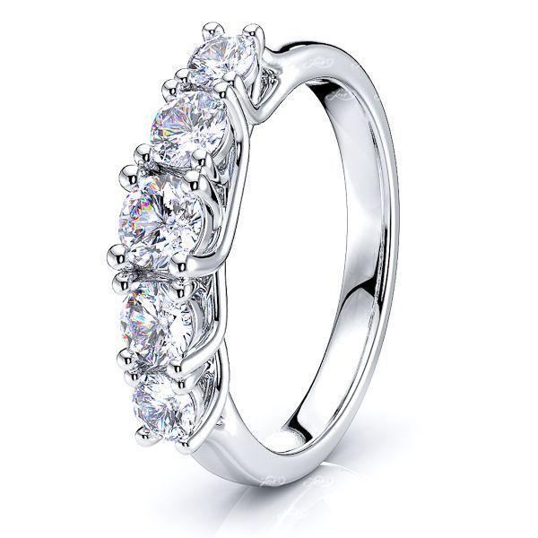 Estelle Prong Set Women Anniversary Wedding Ring