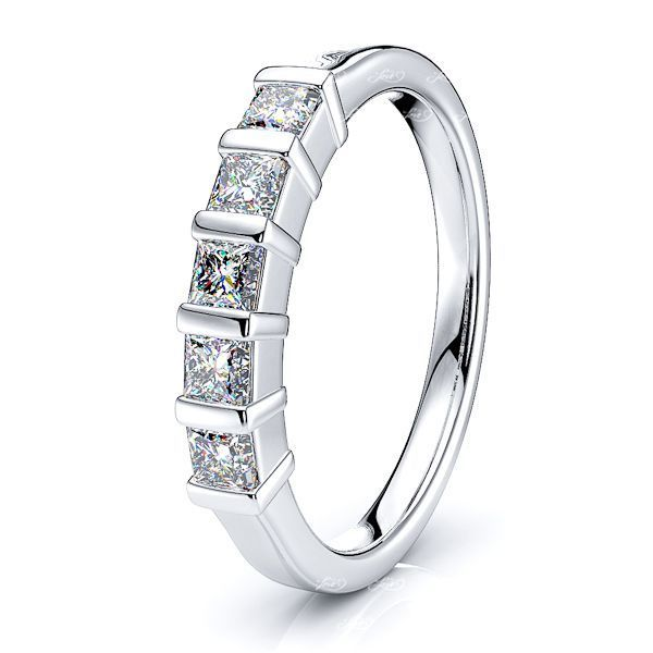 Rosalva Bar Set Women Anniversary Wedding Ring