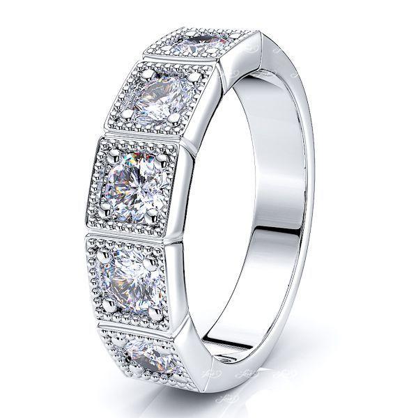 Alienor Ana Women Anniversary Wedding Ring