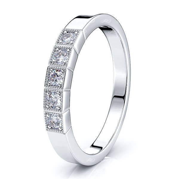Alberta Women Anniversary Wedding Ring