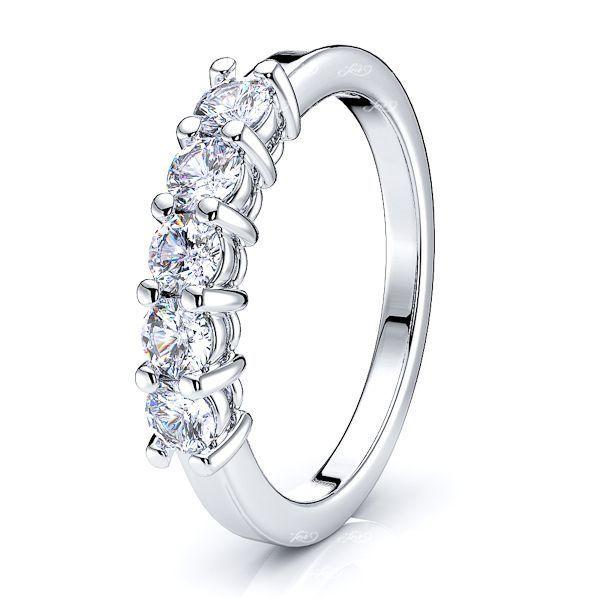 Donata Diamond Women Anniversary Wedding Ring