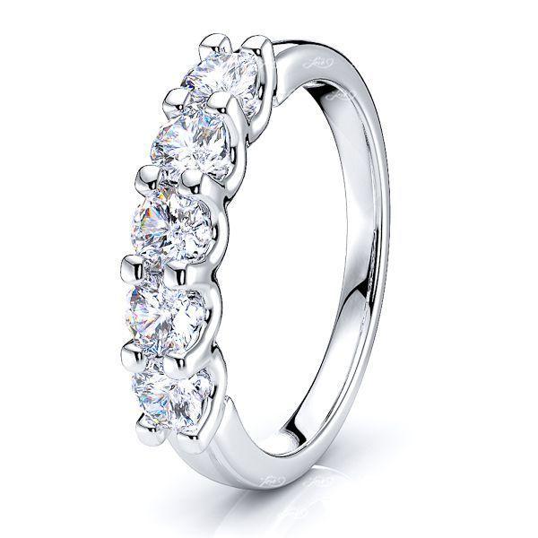 Roxanne Prong Set Women Anniversary Wedding Ring
