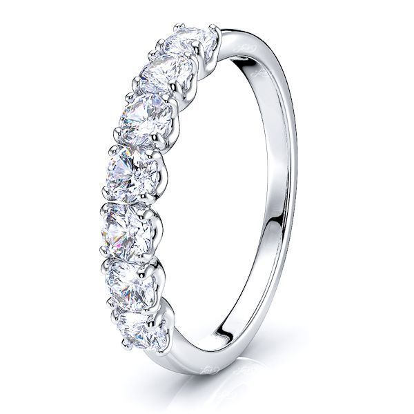 Ambre Prong Set Women Anniversary Wedding Ring