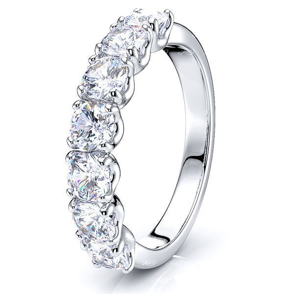 Leticia 7 Stone Women Anniversary Wedding Ring