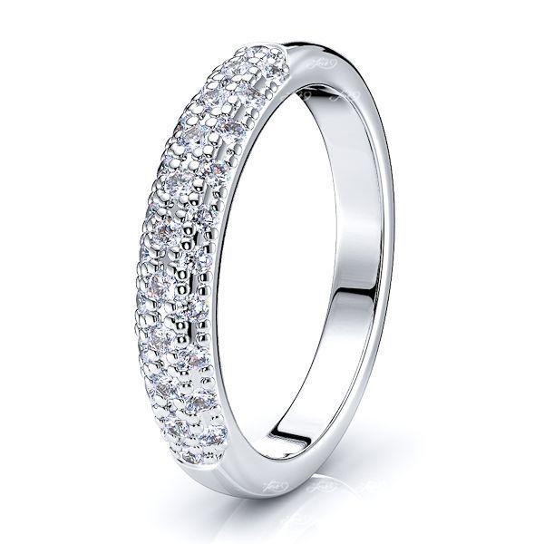 Eugenie Diamond Women Anniversary Wedding Ring