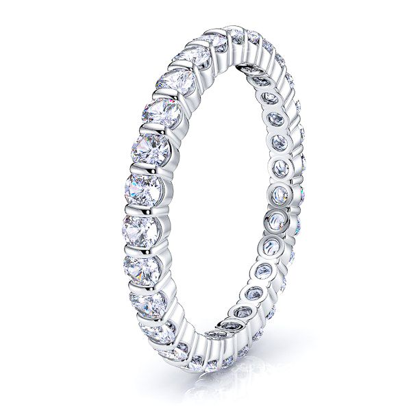 Iris Diamond Women Eternity Ring