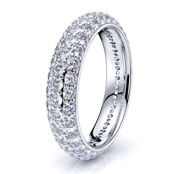 Niobe Women Eternity Diamond Ring