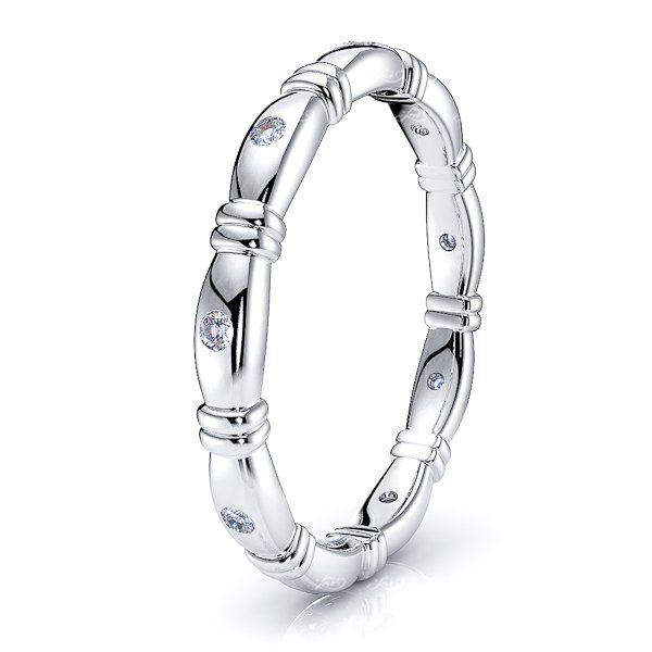 Venus Diamond Women Eternity Wedding Ring