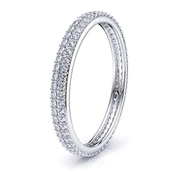 Cerelia Diamond Women Eternity Wedding Band