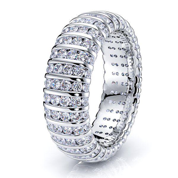 Acantha Diamond Women Eternity Wedding Ring
