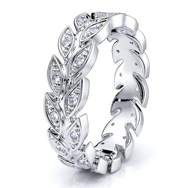 Halcyon Diamond Women Eternity Wedding Band