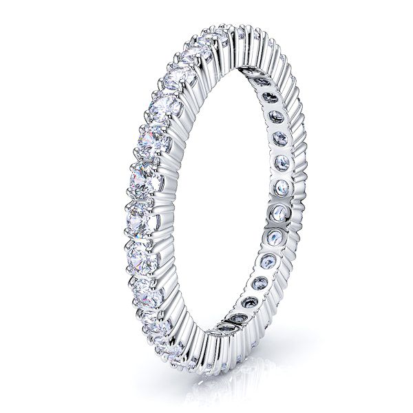 Flora Diamond Women Eternity Band