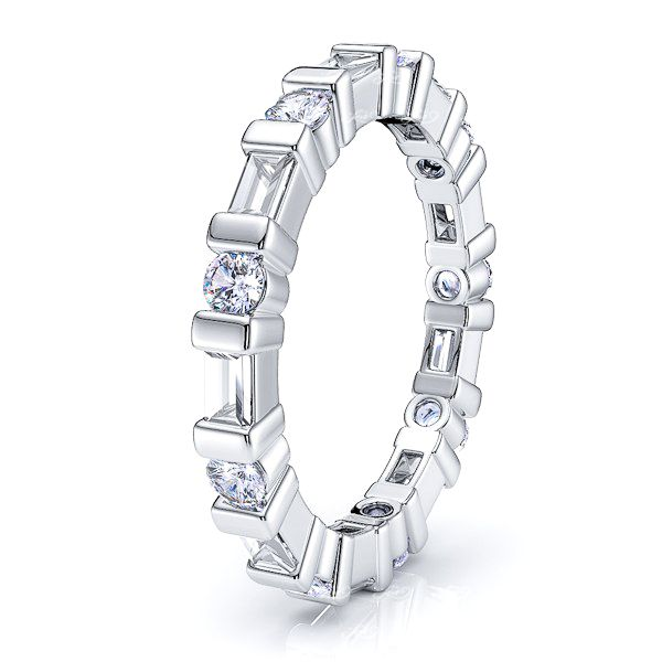Rhea Diamond Women Eternity Band