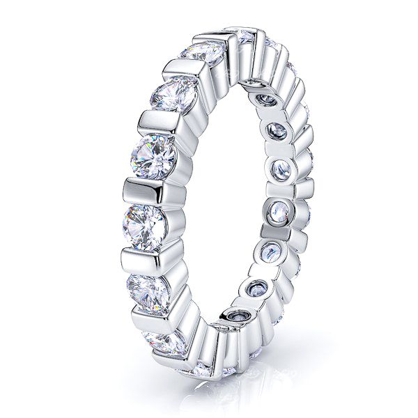 Brigid Diamond Women Eternity Wedding Ring