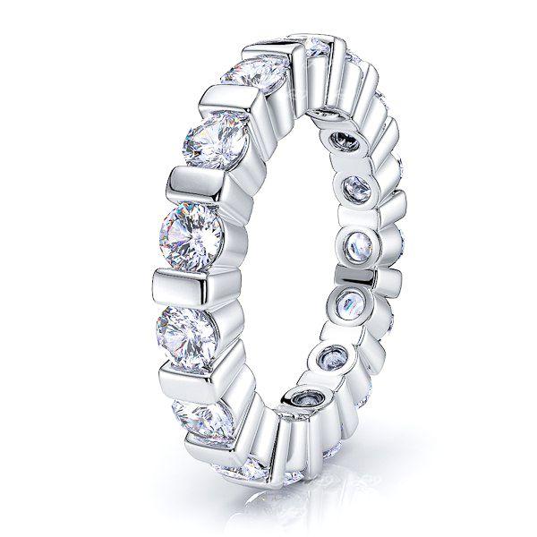 Cybele Diamond Women Eternity Wedding Band