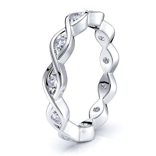 Phaedra Diamond Women Eternity Wedding Ring