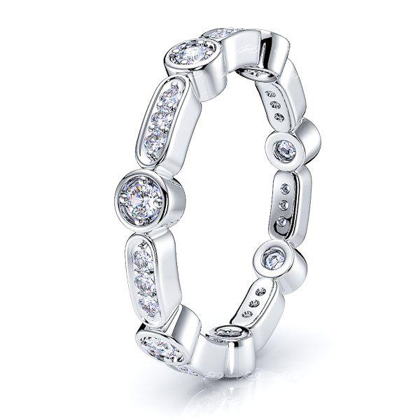 Isolde Diamond Women Eternity Wedding Ring