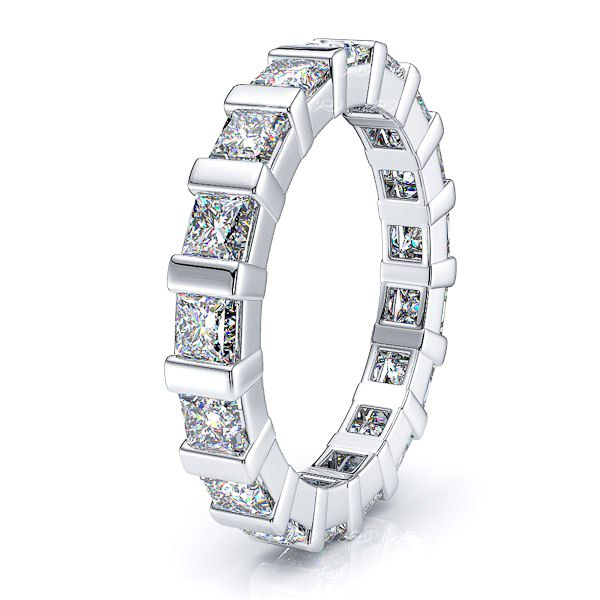 Demeter Diamond Women Eternity Wedding Band