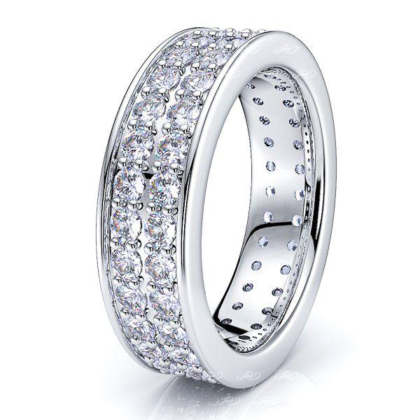 Atalanta Diamond Women Eternity Wedding Band