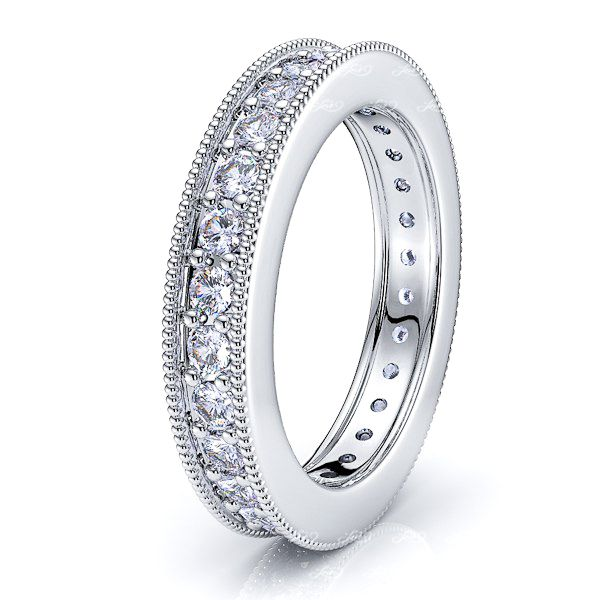 Aphrodite Diamond Women Eternity Wedding Band