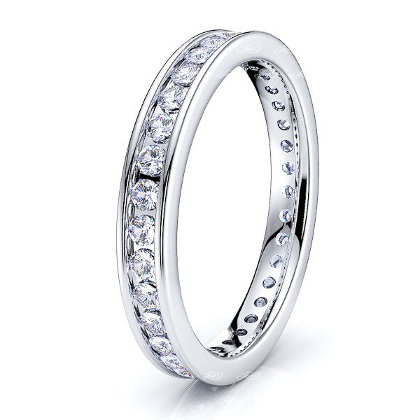 Tara Channel Set Diamond Women Eternity Ring