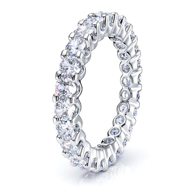 Phoebe Diamond Women Eternity Wedding Ring